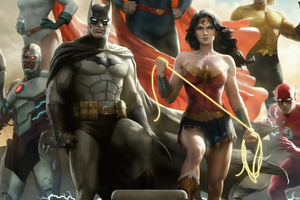 Justice League Of America 4k