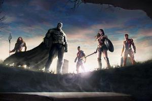 Justice League Team Superheroes Art Wallpaper