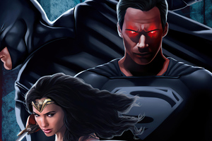 Justice League The Snyder Verse Wallpaper