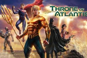 Justice League Throne Of Atlantis 4k Wallpaper