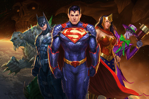 Justice League Trinity Wallpaper
