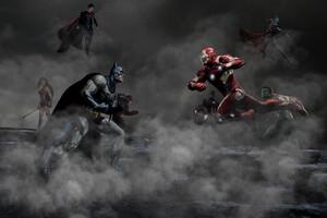 Justice League Vs The Avengers