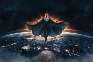 Justice League Zack Superman Black Suit 4k Wallpaper