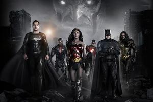 Justice League Zack Synders Cut Full Team 8k Wallpaper