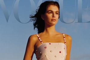 Kaia Gerber Vogue 4k Wallpaper