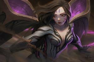 KaiSa League Of Legends 4k Game Wallpaper