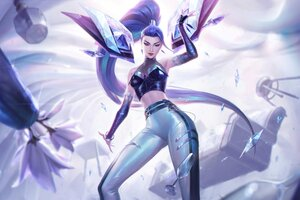 Kaisa League Of Legends 4k Game 2020 Wallpaper