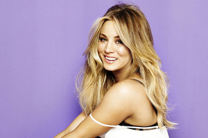 Kaley Cuoco 4k 2020 Wallpaper