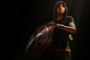 Kamala Khan MsMarvel In Marvels Avengers Wallpaper