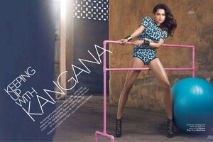 Kangana Ranaut Maxim Wallpaper