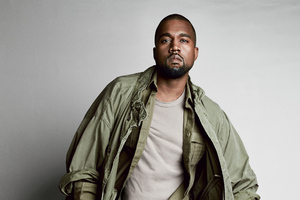 Kanye West Gq 2020 Wallpaper