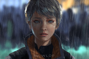 Kara Detroit Become Human Artwork