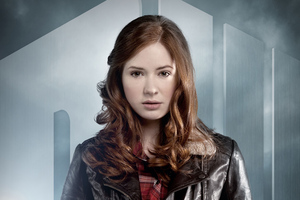 Karen Gillan Doctor Who Poster Wallpaper