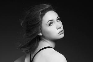 Karen Gillan Monochrome