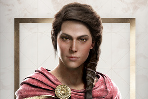 Kassandra Assassins Creed Odyssey 4k