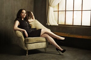 Kat Dennings Women Wallpaper