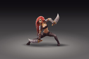 Katarina FanArt League Of Legends