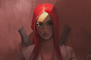 Katarina League Of Legends Artwork