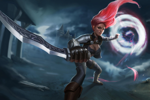 Katarina League Of Legends Fan Artwork