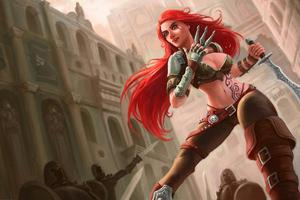 Katarina League Of Legends Game 4k Wallpaper