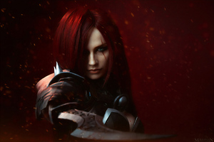 Katarina Lol Cosplay