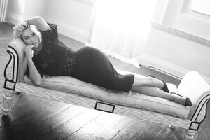 Kate Winslet Monochrome 4k 5k Wallpaper