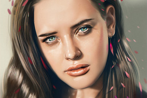 Katherine Langford Fan Art