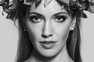 Katie Cassidy Monochrome
