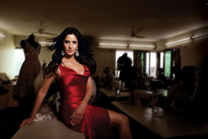 Katrina Kaif Red Hot Wallpaper