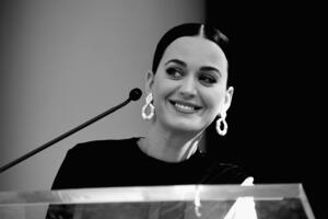 Katy Perry Monochrome