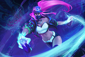 Kda Akali League Of Legends 4k Artwork Wallpaper