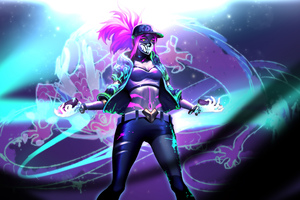 Kda Akali League Of Legends