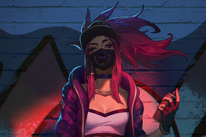 Kda Akali With Spray 4k