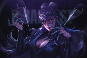 Kda Evelynn Lol 4K 2020 Wallpaper