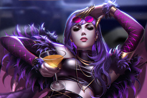 Kda Evelynn Lol Wallpaper
