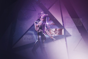 Kda Kaisa Fanart 4k Wallpaper