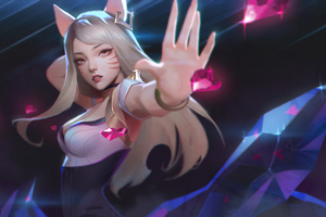 Kda League Of Legends 2020 4k Wallpaper