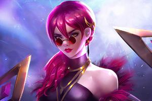Kda League Of Legends Art New Wallpaper