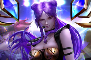 Kda Lol Art Wallpaper