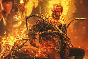 Keanu Reeves As Ghost Rider 4k