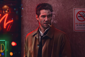 Keanu Reeves As John Constantine Wallpaper