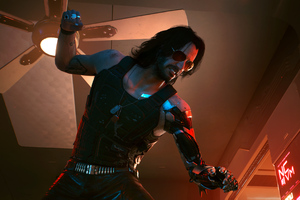 Keanu Reeves Cyberpunk 2077 4k Wallpaper