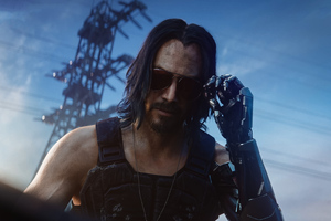 Keanu Reeves Cyberpunk 2077 Wallpaper