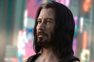 Keanu Reeves In Cyberpunk 20774k Wallpaper