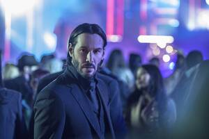 Keanu Reeves In John Wick 2 Wallpaper