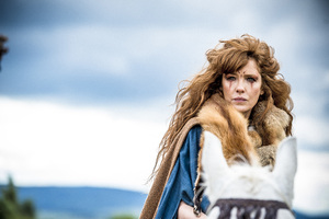 Kelly Reilly In Britannia TV Series