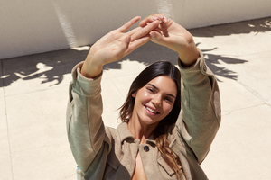 Kendall Jenner About You Photoshoot Wallpaper