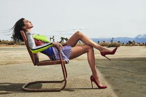 Kendall Jenner Elle Usa Photoshoot Wallpaper