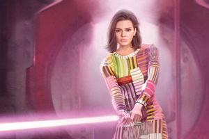 Kendall Jenner In Star Wars Inspired Editorial Harper Bazaar