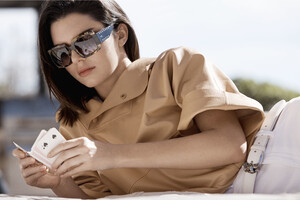 Kendall Jenner In Tods Campaign 2018 Photoshoot